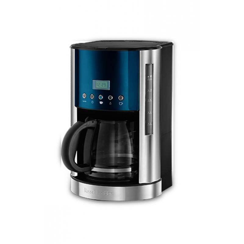 21790-56 Кофеварка Jewels Topaz Blue Russell Hobbs